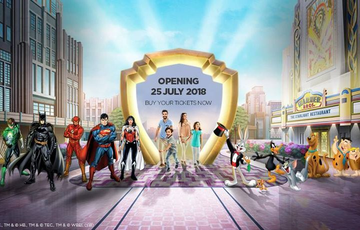 Warner Bros World Abu Dhabi opens on 25th July 2018