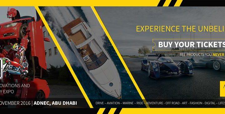 Big Boys Toys @ ADNEC, Abu Dhabi from 23rd to 26th 2016