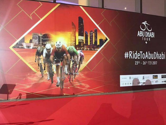 Abu Dhabi Tour 2017, Cycling race from 23th to 26th February