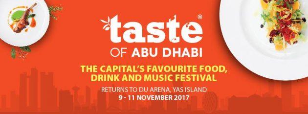 Taste of Abu Dhabi @ Du Arena on 9-11 November 2017