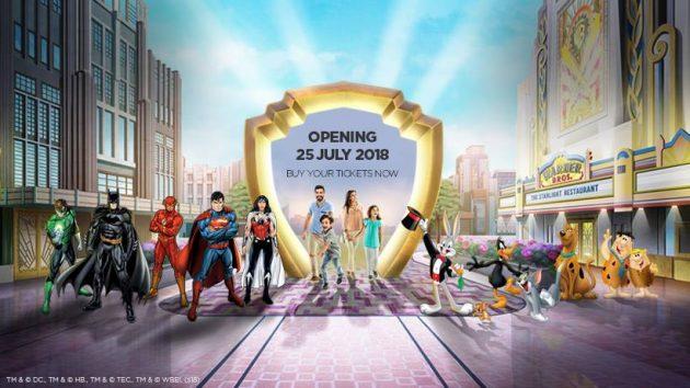 Warner Bros World Abu Dhabi opens on 25th July 2018