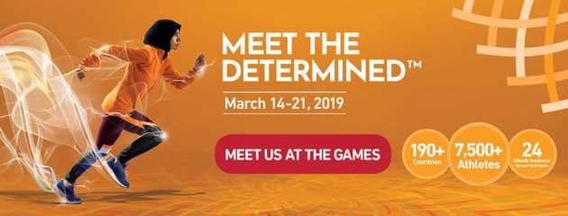 Special Olympics World Games Abu Dhabi 14-21 March 2019