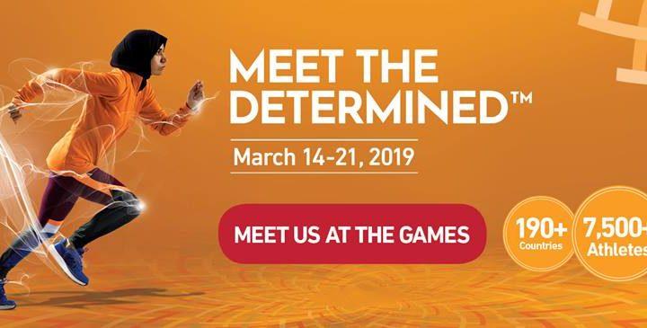 Special Olympics World Games Abu Dhabi 14-21 March 2019